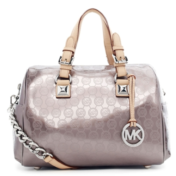 Michael Kors Handbags - MICHAEL KORS GRAYSON LARGE SATCHEL